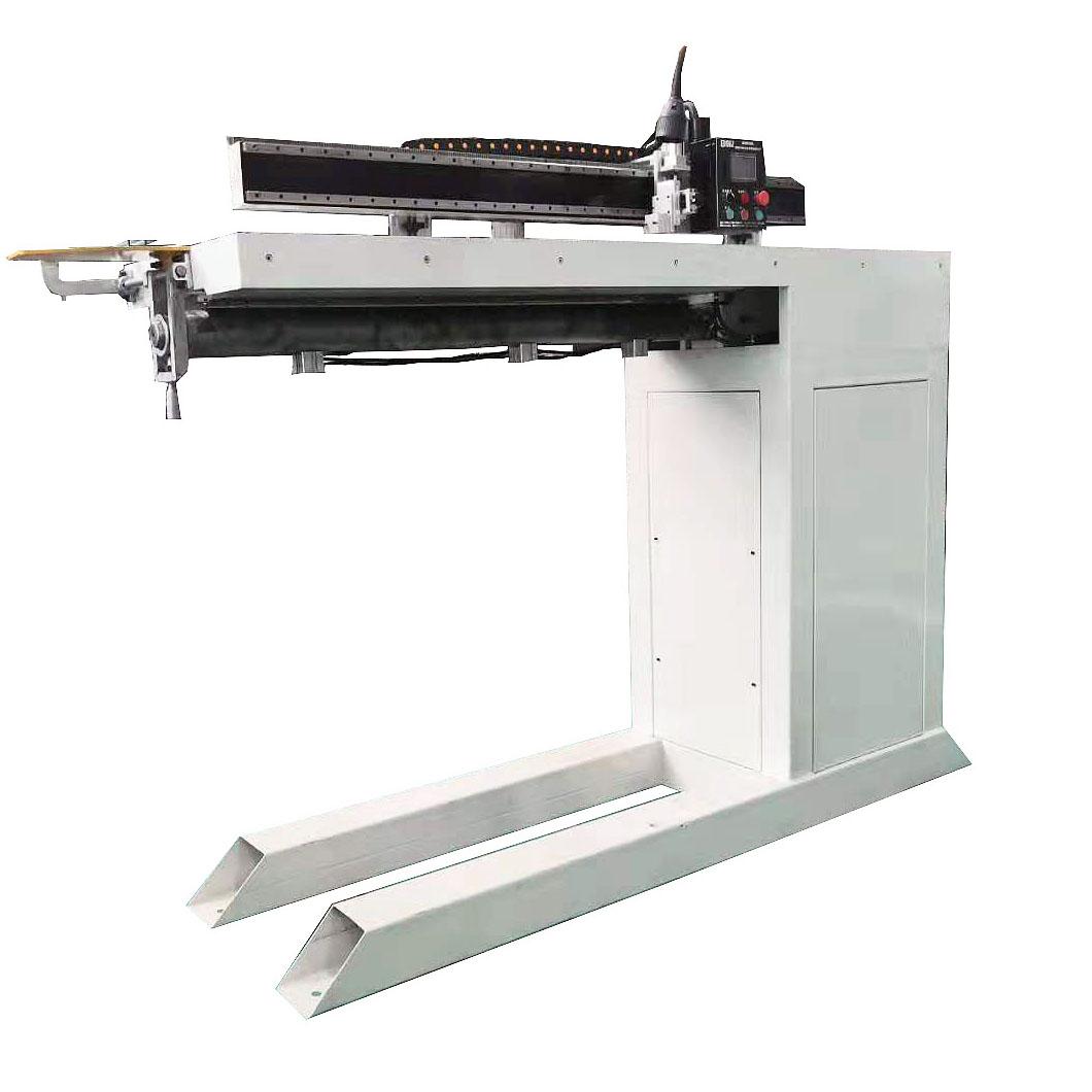 钢管直缝焊接专机用于不锈钢板、铁板、平板对接焊接