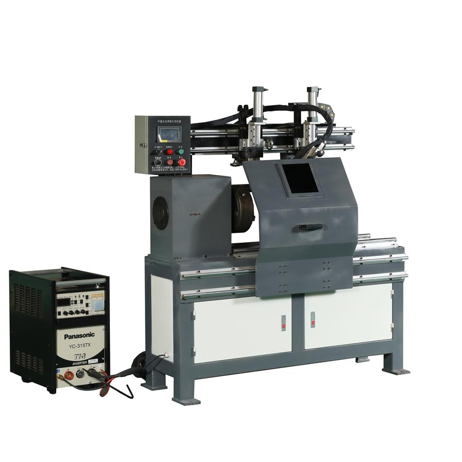 中山厂家法兰环缝自动卧式环缝焊接机