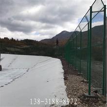 江西生活垃圾防飞网-填埋场铁丝网图片