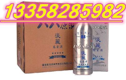 台湾马祖酒业八八原浆淡丽高粱酒铝罐42度0.75公升