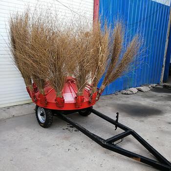牽引式掃地機折疊式加掃帚清掃機廠家風火輪掃地機
