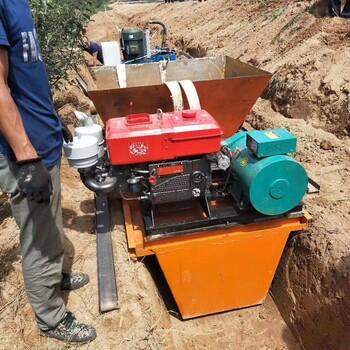水渠一次成型机农田排水沟滑模机混凝土浇筑水渠机U型槽成型机