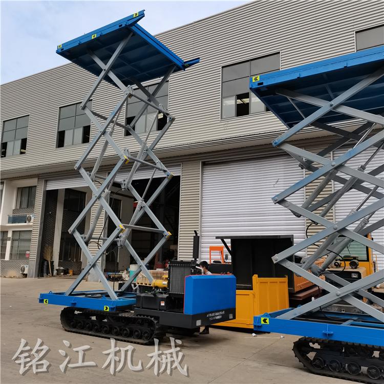 移动高空作业车高空升降平台履带升降平台钢结构履带升降车