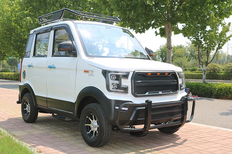 新款油电两用电动汽车四轮轿车男女士铁壳新能源家用小型代步轿车