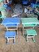 河南华闻厂家出售幼儿园桌中小学生课桌椅培训班课桌椅儿童桌椅