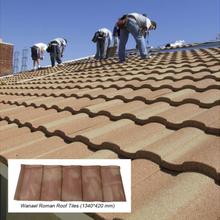 彩石金属瓦厂家彩石金属瓦价格彩石金属瓦安装屋面改造瓦图片