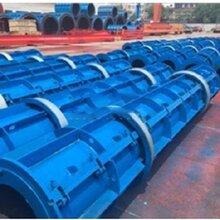 江西水泥透水井管生产设备-水泥花管模具生产厂家-透水井管模具