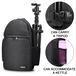 卡登跨境爆款数码相机单肩背包户外防水相机包多功能斜跨摄影包