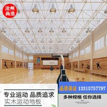 体育运动场馆柞木室内篮球场馆地板羽毛球舞台运动实木地板防滑厂图片
