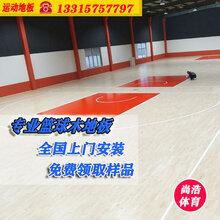 室内篮球羽毛球木地板枫木枫桦木柞木舞台舞蹈健身场馆耐磨防滑运动抗压厂家直销图片