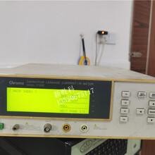 Chroma11200电容漏电流绝缘电阻测试仪LCR测量仪回收