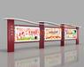 陜西漢中各類公開欄,廣告燈箱,公交站牌制造