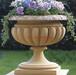石雕花盆底座石雕花钵精品欧式石雕花盆设计定制