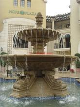 石雕水缽噴泉水景定做石雕水缽噴泉東昇石業供應出售圖片