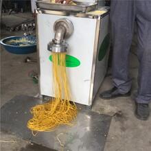 精工制造冷面機超Q彈蕎麥面機鋼絲面機型號齊全圖片
