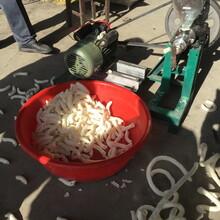 多功能玉米膨化机自动切断膨化两用组合机空心棒机生产批发图片