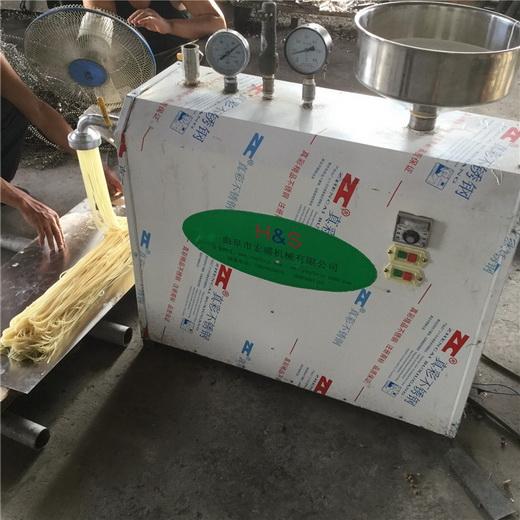 安义米线机劲道弹牙干米粉机小型米粉机发货