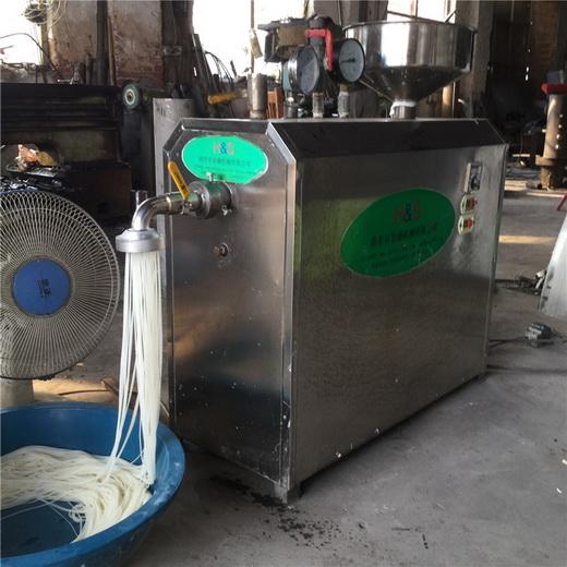 桂林米线机滑嫩鲜小型米粉机小型米粉机厂家报价