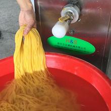 現壓式馇條機2020新品叉子機玉米面條機質量保障圖片