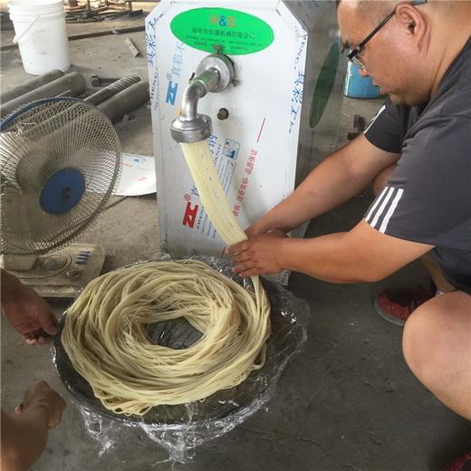 一步成型米线机滑嫩鲜小型米粉机小型米粉机专业厂家