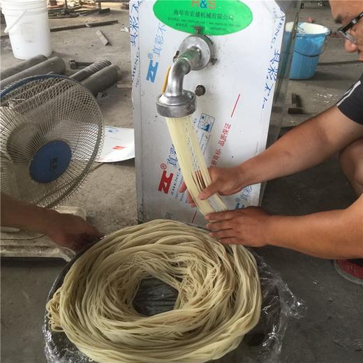 口感细腻米线机宏盛热销干米粉机小型米粉机制造厂家