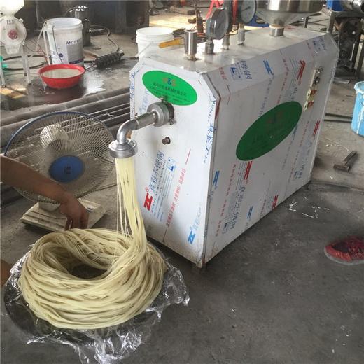 厂家米线机20年品质小型米粉机家用米粉机促销厂家