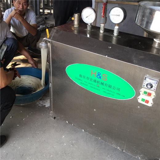 一人生产米线机专业20年米干机小型米粉机特价促销
