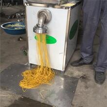 銷售冷面機直供雜糧面條機鋼絲面機生產視頻圖片