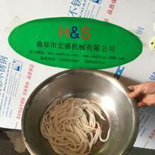无需冷冻银针粉机新型米筛目机米苔目机技术指导图片