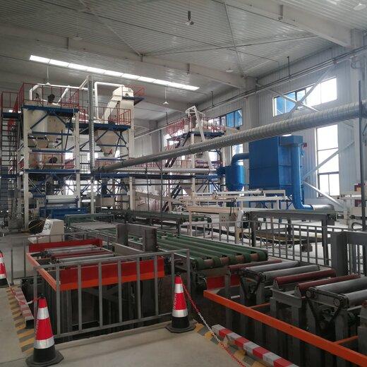 康洛機械建筑免拆外模板生產線,免拆模保溫板設備服務周到