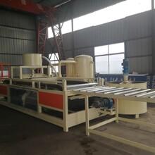 水泥硅质板设备-水泥聚合物聚苯板设备工作流程图片