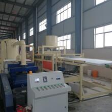 防水聚苯板设备与硅质板水泥设备防水特点图片
