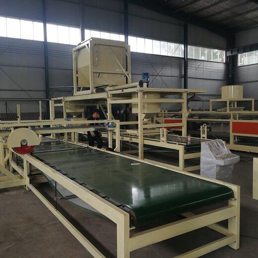 北京制造巖棉復合板設備,砂漿巖棉復合板設備