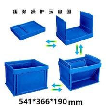 石排塑料折疊箱批發,塑料膠箱廠,折疊膠箱膠框