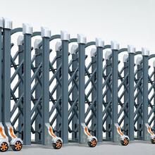 創中盛電動折疊門,惠陽定制電動伸縮門品種繁多圖片