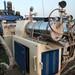 二手405型三輥研磨機,回收臥式砂磨機