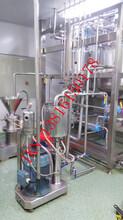 药用辅料级硬脂酸锌高速胶体磨,药用辅料硬脂酸盐高剪切研磨机图片