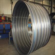 呼伦贝尔整装圆形钢波纹管涵洞波纹管源头钢波纹涵管厂家图片