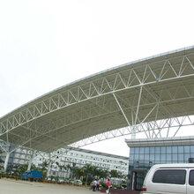 管桁架工程加工施工ETC门架体育场桁架结构制作安装图片
