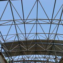 螺栓球網架羽毛球網架加工輕鋼網架鋼網架節點設計圖片