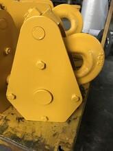 優質耐用五噸三輪吊鉤起重機單輪吊鉤圖片