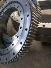 北京小型工程機械配件外齒式回轉支承旋轉齒圈圖片