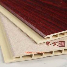 福州竹木纤维集成墙板厂家、集成墙面旧房改造、集成墙板环保装饰材料图片