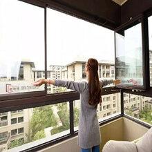 福州折叠窗、全景窗、隐形窗、无框�{玉柳�色一�阳台窗、阳光房�R子之中折叠窗图片