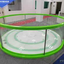 江蘇兒童親子玻璃游泳池設備嬰兒游泳館設備的價格伊貝莎圖片