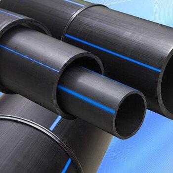 廠家源頭貨黑色pe給水管多規格聚乙烯材質