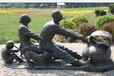 山東雕塑泰安鑄銅雕塑城市鑄銅雕塑