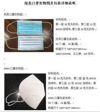 KN95口罩,CE,FDA,资质齐全,一次性防护口罩图片