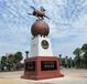 中國優秀旅游城市標志馬踏飛燕雕塑景觀