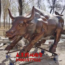玻璃鋼仿銅動物牛雕塑圖片及價格圖片